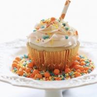 blue and orange sprinkles, summer sprinkle blend, summer sprinkles, blue orange yellow sprinkles, teal orange sprinkles
