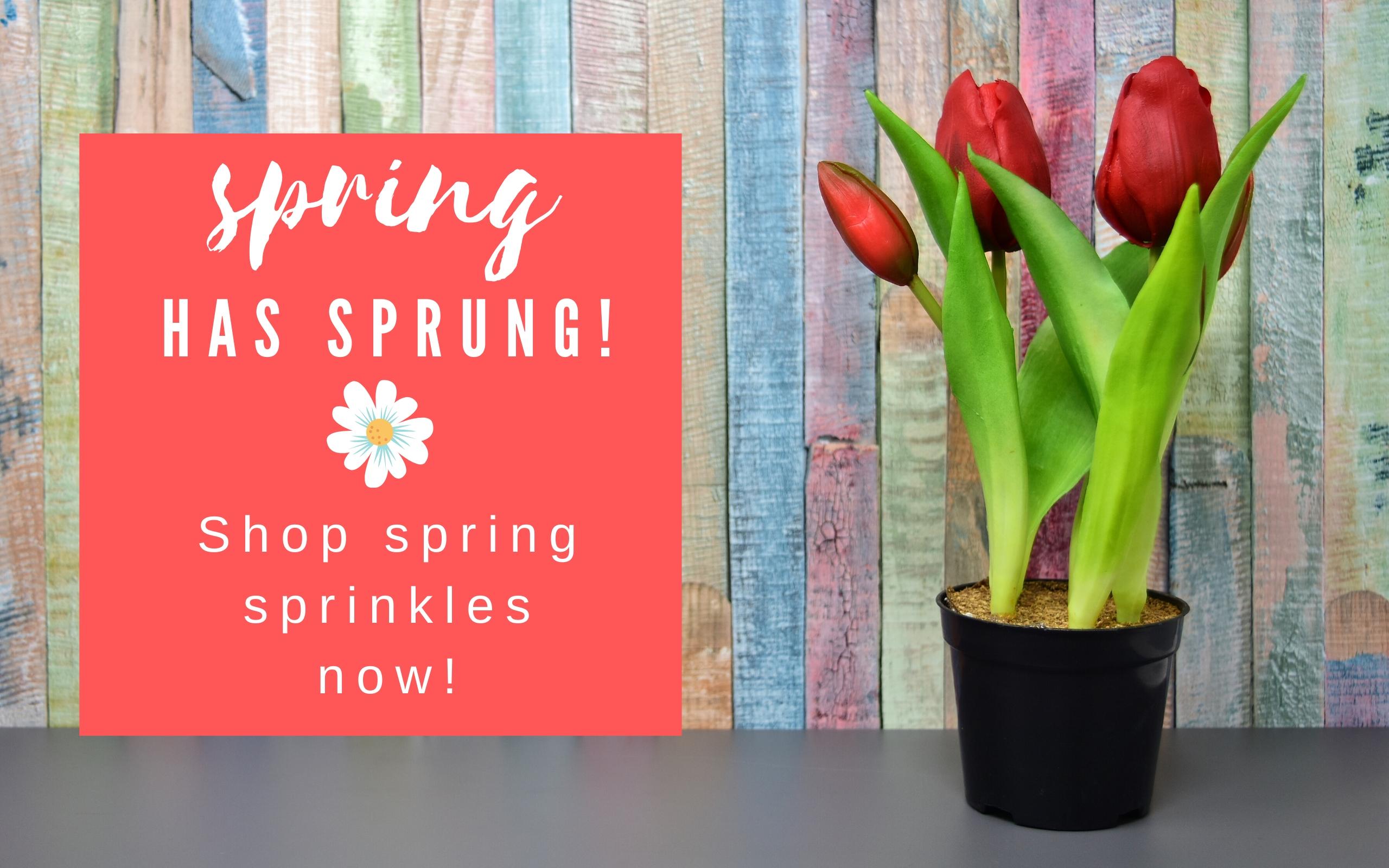 spring sprinkles