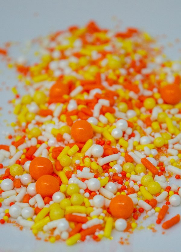 Candy Corn Sprinkle Blend