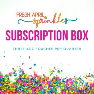 Fresh April Sprinkles Subscription Box