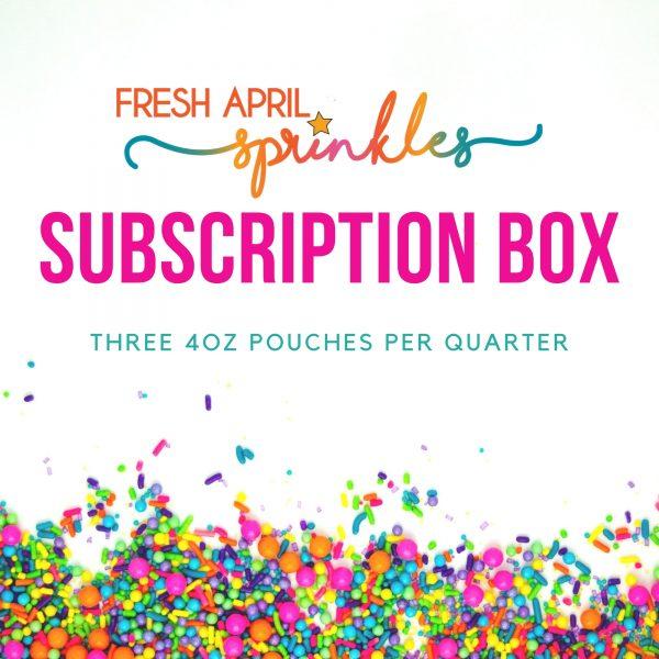 Fresh April Sprinkles Subscription Box